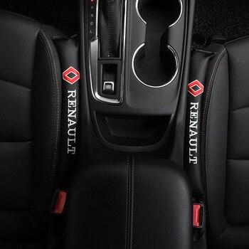 2 шт. автомобильные аксессуары Стайлинг для Renault Megane 2 3 Duster Captur Euro Clio 4 Kangoo Express Koleos Laguna Seat Gap Filler Soft