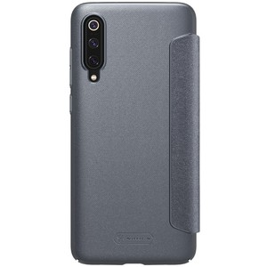 Image 4 - For Xiaomi mi 9 explore Flip Case Nillkin Sparkle Series PU Leather Cover Flip Case For Xiaomi mi 9 / mi 9 explorer 6.39 inch