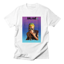 Voltreffer 2019 Frank Ocean Blonde T Shirt Tee Shirt Printed 2pac Tupac Short Sleeve Funny Tee Shirts Top Tee Summer Tops Unisex(China)