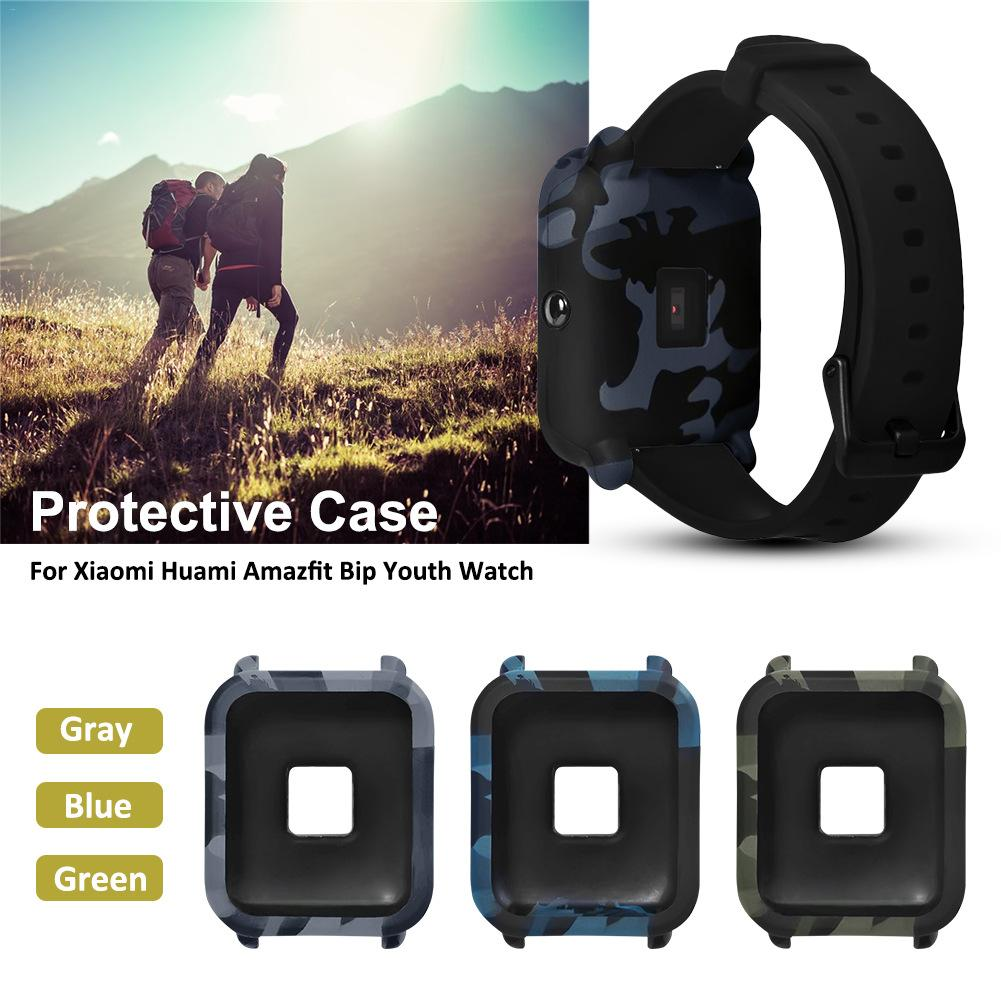 Image 2 - Smart Watch Protector Case Skin Friendly Frame Soft PC Case Cover Protect Case For Xiaomi for Huami Amazfit Bip Youth Watch New-in Smart Accessories from Consumer Electronics