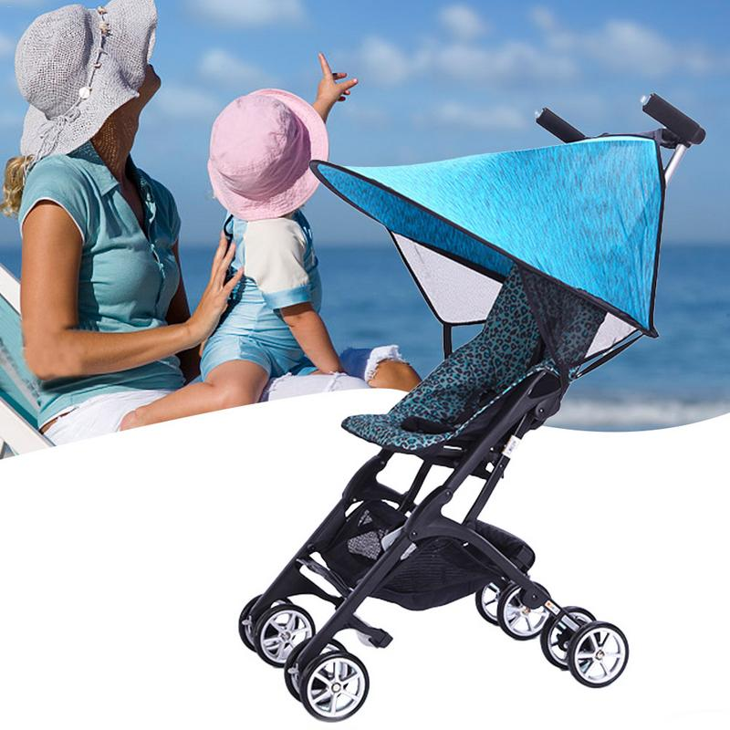 Activity & Gear Upgraded Sunshade For Baby Stroller Universal Type Parasol Sunscreen Cover For Stroller Cart Accessories Strollers Accessories