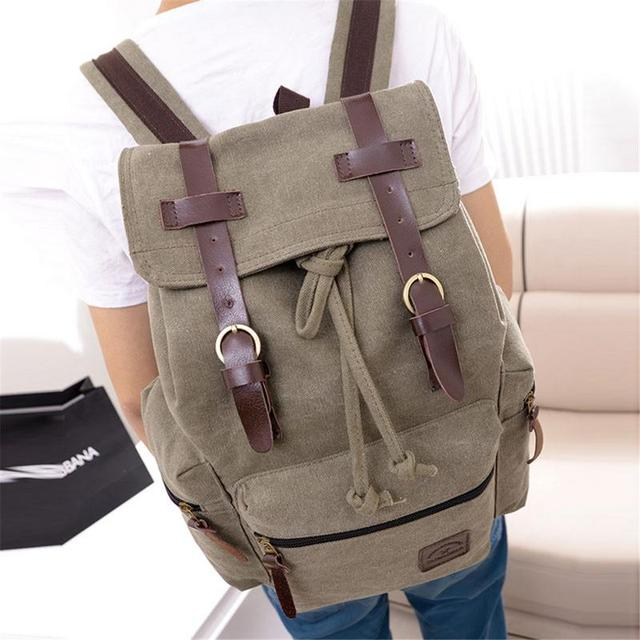 Urban Style Canvas Backpack