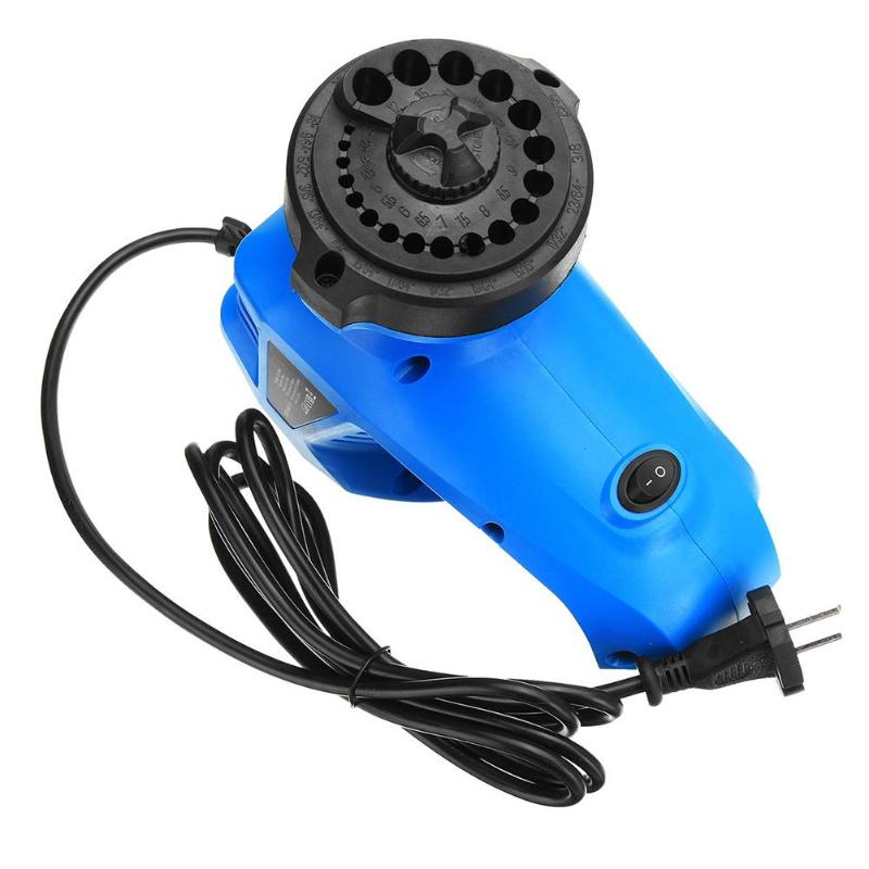 Electric Drill Bit Sharpener Twist Drill Grinding Machine High Speed Drill Grinder Machine 95W 1350rpm For Grinding Drill