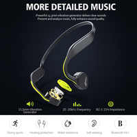 Vidonn F1 Wireless Bone Conduction HiFi Bluetooth Earphone MIC Noise Cancelling Waterproof Neckband Sport Earphones for Running