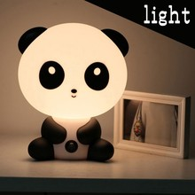 Baby Bedroom Lamps Night Light Kawaii Cartoon Panda Led Sleep Fairy Lamp Christmas Gift Childrens Bedside EU Plug