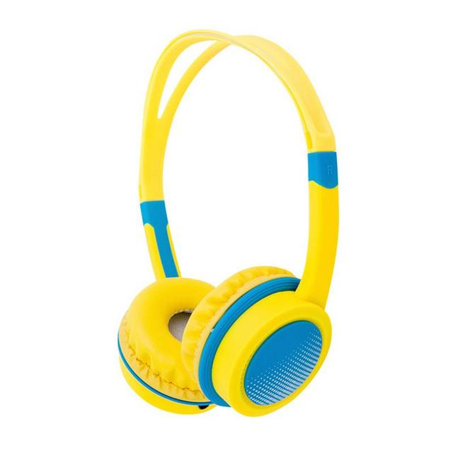 Portable Headphones Wired Headset For Children Built-in Volume-controlled Ultra-lightweight Multifunctional Device For Phones PC