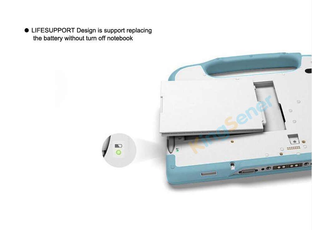 KingSener BP4S1P2100-S ноутбука батарея для Getac RX10H планшеты PC 441871900019 441871900001 P/N: 2160 242871900001 мАч 32WH