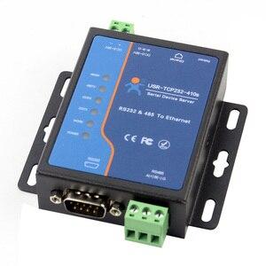 Image 1 - USR TCP232 410S терминальный источник питания RS232 RS485 к TCP/IP преобразователю последовательного сервера Ethernet