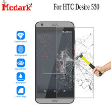 Mcdark 2.5D 9H vidrio templado para HTC Desire 530 Protector de pantalla 5,0 pulgadas para HTC Desire 530 película protectora de vidrio endurecido para teléfono