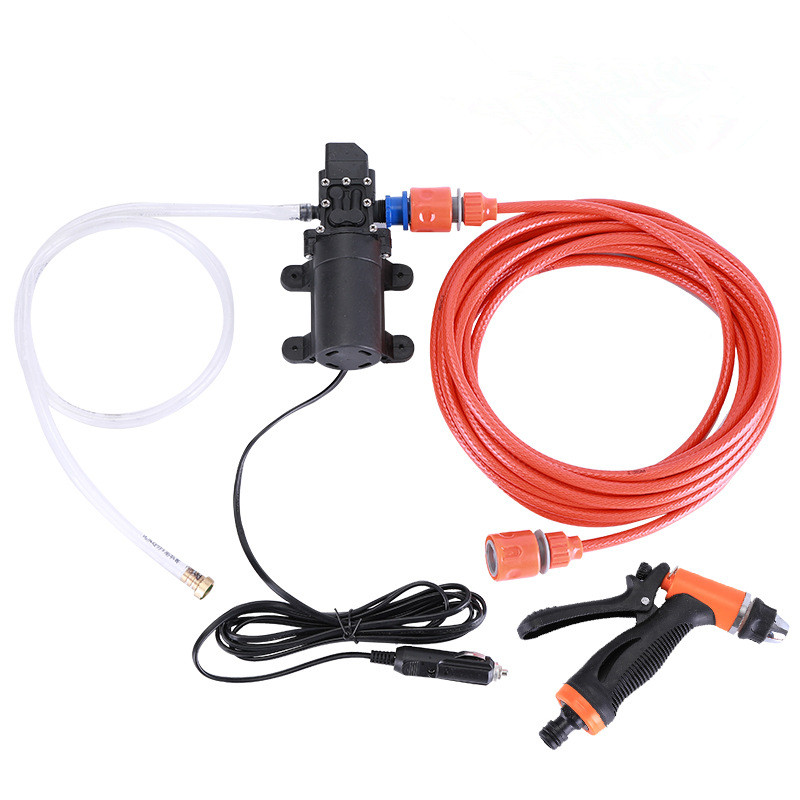 Car Wash & Maintenance Car Wash Accessories Car Wash 12v Portable 100w 160psi High Pressure Car Water Gun Electric Washer Auto Wash Pump Set Tool Cleaning The Oral Cavity.