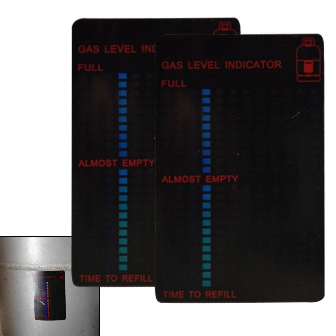 -10-120 Dreege Propane Butane Fuel Gas Tank Level Indicator Magnetic Gauge Caravan Bottle Temperature Measuring Stick
