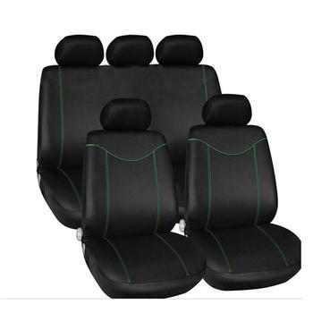 Samochodowe uniwersalne przednie pokrycie samochodu pokrowce na siedzenia samochodowe przez cały rok wysokiej jakości tkanina z siateczki Car Styling tanie i dobre opinie KKMOON Cztery pory roku Poliester Pokrowce i podpory Podstawową Funkcją Seat Covers For Cars Full Set 5 Pieces