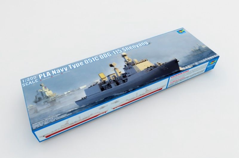 <font><b>Trumpeter</b></font> 03619 1/200 051C DDG-115 Air Defence Missile Destroyer Model Warship TH05750-SMT2 image