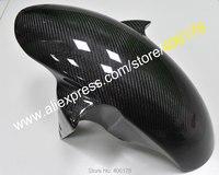 Лидер продаж, углеродного волокна переднее крыло обтекатель брызговика для Yamaha YZF R1 2002 2003 2004 2005 2006 2007 2008/R6 2005 мото Запчасти