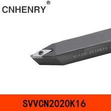 SVVCN1616H16 SVVCN2020K16 72,5 градусов Внешний токарный инструмент токарный станок токарный держатель токарный станок режущие инструменты CNC Расточная штанга