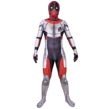 Avengers 4 Endgame Quantum Realm Deadpool Cosplay Costume Superhero Costumes Adult Jumpsuit Suit Hallween For Men