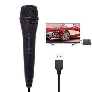 Image 4 - Mới USB Có Dây 3M/9.8ft Tay Cầm Chơi Game Điện Tử sử dụng Micro Cao cấp Hát Karaoke MIC cho Nintend Công Tắc PS4 Wii U XBOX360 PC