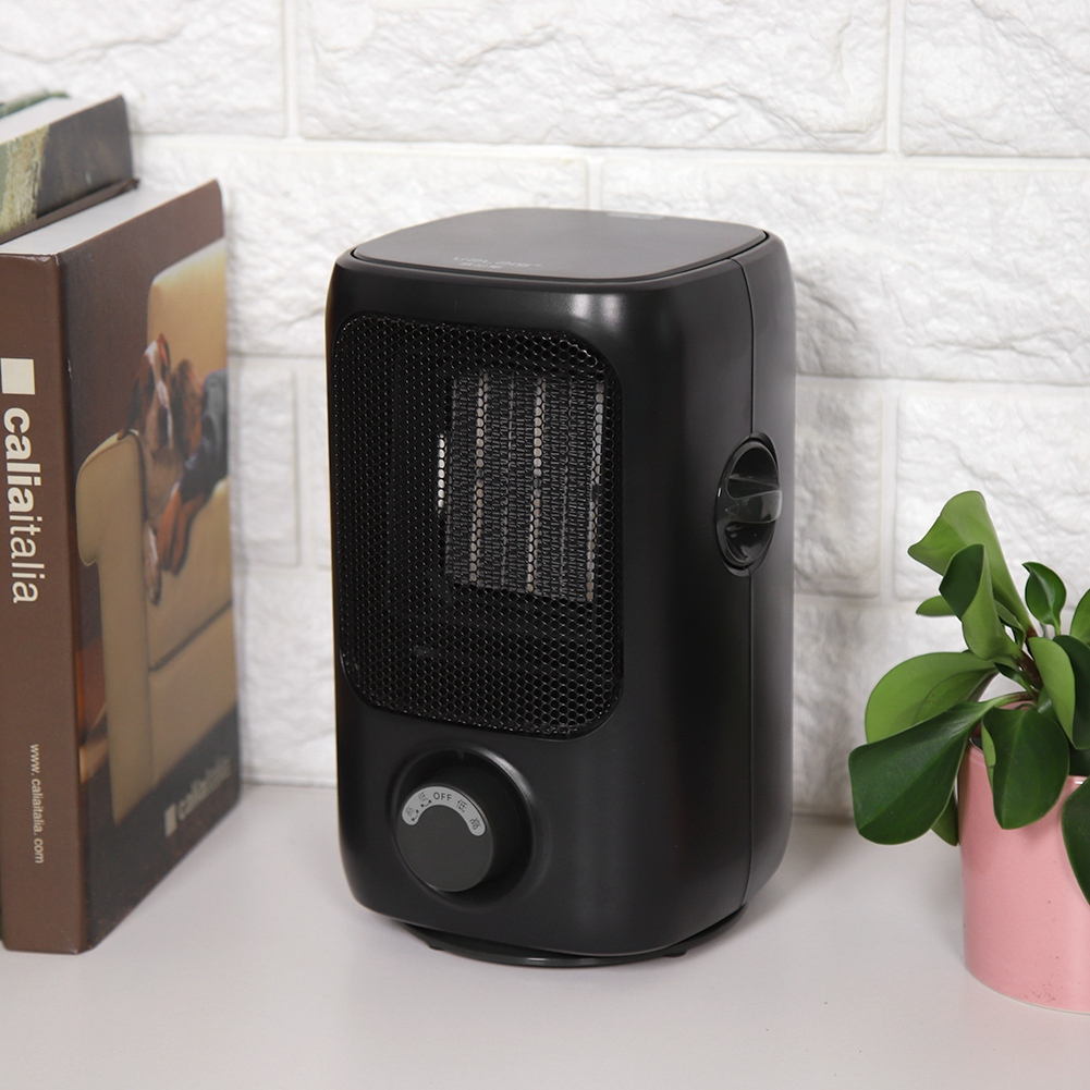 Desk PTC Ceramic Electric Portable Heater Mini Energy Saving Desktop Fan Heater Shake Warmer With Thermostat