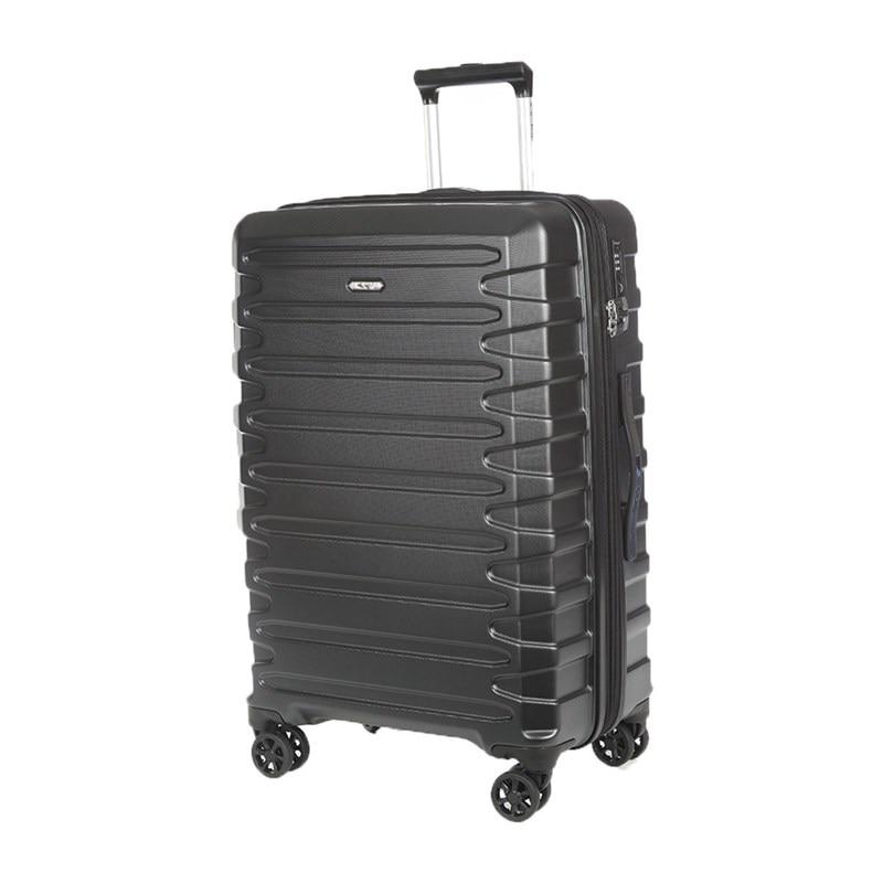 Suitcase-trolley Verage GM17106W25 black portable plastic folding trolley black