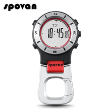 SPOVAN Sport Smart Watch Pocket Altimeter Barometer Compass LED Watch Sports Watches Fishing Hiking Climbing Pocket Watch