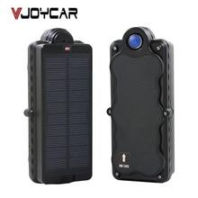 VJOYCAR Magnet GPS Tracker Waterproof Solar Panel LBS Locator 20000mAh Rechargeable Battery Long Time Standby Dismount Alarm