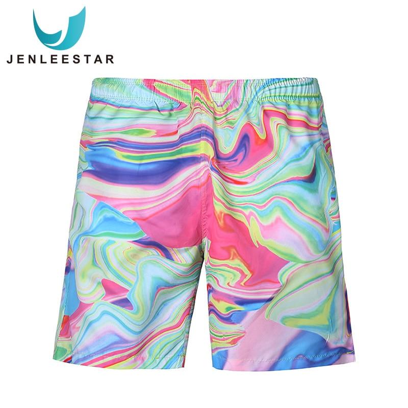 2019 New Men Printed Beach   Shorts   Quick Dry Beachwear Running   Shorts   Swimwear Swimsuit Swim Trunks Sports   Shorts     Board     Shorts