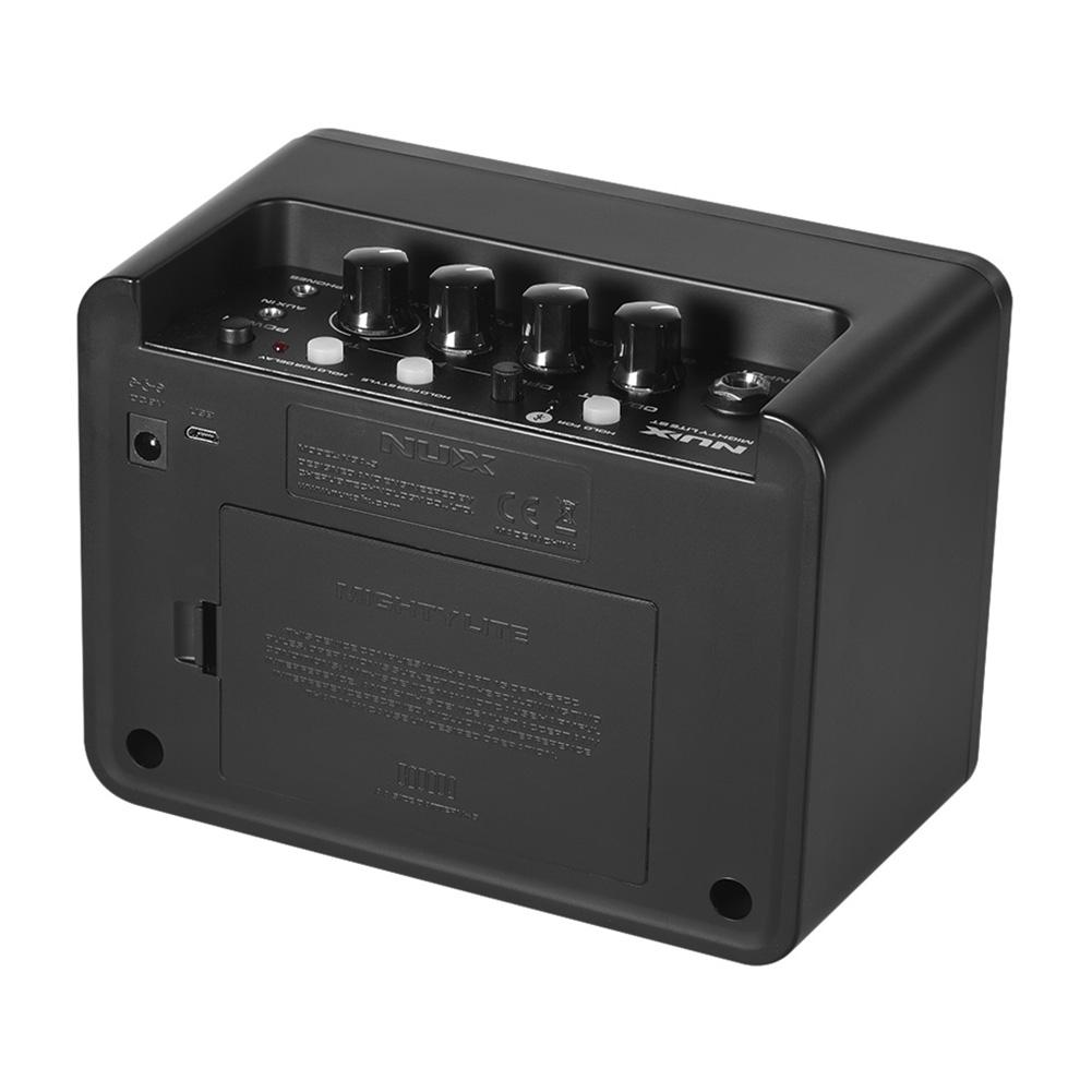 Image 4 - NUX 4.2W DC9V Guitar Amp Speaker Mini Amplifier Portable Multifunction Mighty Lite BT Mini Desktop Guitar Accessories-in Guitar Parts & Accessories from Sports & Entertainment