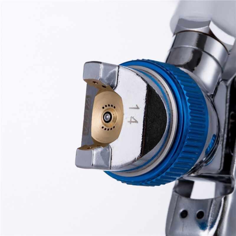 887 グラムエアブラシガン Hvlp スプレーガン塗料ない車をペイントするエアブラシスプレー空気圧ツール
