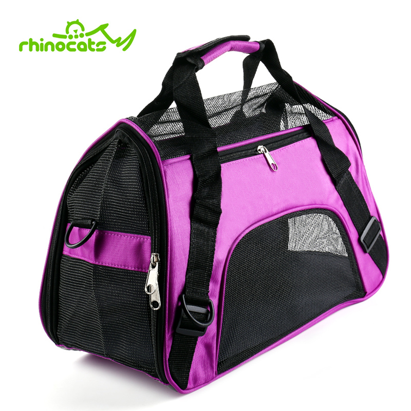 Carrier For Cat Pet Bag Sling Portable Breathable Outdoor Travel Transport Carrying Bag Backpack Handbag For Small Cats Animals