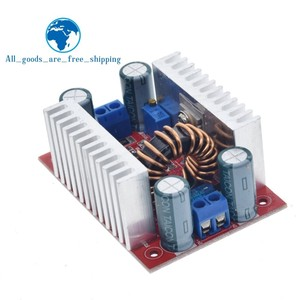 Image 5 - Dc 400w 15a step up conversor de impulso fonte de alimentação de corrente constante led driver 8.5 50v a 10 60v tensão carregador step up módulo