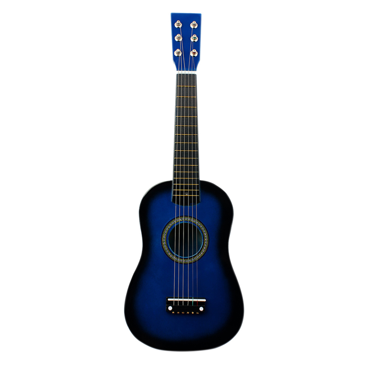 IRIN Mini <font><b>23</b></font> Inch Basswood <font><b>12</b></font> Frets 6 String Acoustic Guitar with Pick and Strings for Kids / Beginners image