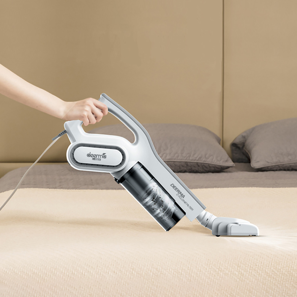Image 5 - Xiaomi Deerma DX700 2 In 1 Handheld Vacuum Cleaner With Large Capacity Dust Box Low Noise Triple Filter Vertical Dust Collector-in Vacuum Cleaners from Home Appliances