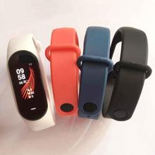 Soft Silicone Sport Wrist Watch Band Strap For Xiaomi Hey+ Plus Fitness Tracker Easy To Install And Remove Comfortable