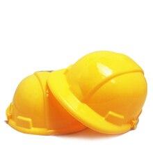 df9d9d1a93c41 1   casco juguete simulado de plástico de ingeniería casco amarillo  construcción duro sombrero niños juguete