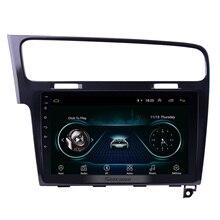 Seicane Android 8,1 10,1 дюймов 2Din автомобиля навигационный GPS радиоприемник стерео Мультимедийный Плеер для 2013 2014 2015 Фольксваген Гольф 7 Wi Fi