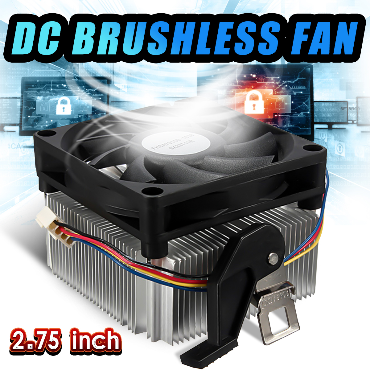 A3 CPU Cooling Fan Heatsink Radiator Cooler for AMD754 939 940 AMD Athlon64 YB