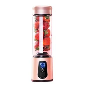 Portable Electric Juicer Blender Usb Mini Fruit Mixers Juicers Fruit Extractors Food Milkshake Multifunction Juice Maker Machine 5