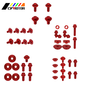 Dirt Bike Motocycle Plastic Body Parts Guard Screw Bolt For Honda crf450r crf 450r 2005 2006 2007 2008 05 06 07 08 image