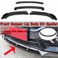 Новинка, 4 шт., автомобильный передний бампер, разделитель для губ, диффузор для губ, комплект для тела, спойлер на бампер, протектор для Honda, д...