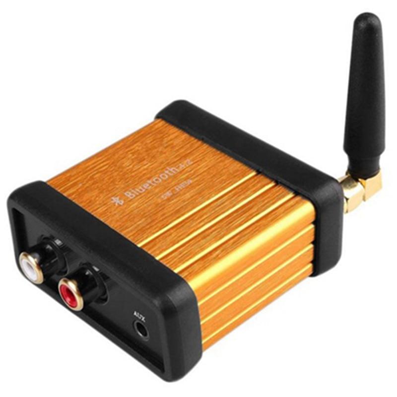 Vornehm 4,0 Auto Suv Bluetooth Audio Receiver Stereo Hallo-fi Box Adapter 3,5 Mm/rca Ausgang Aptx
