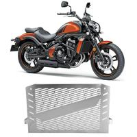 Motorcycle Stainless Steel Radiator Guard Protector Grille Cover Silver Universal for Kawasaki Vulcan 650 S Series NEW