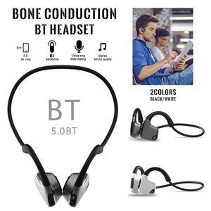 Image 4 - Bluetooth Wireless Kopfhörer Knochen Leitung Headset Mit Micphone Schweiß beweis Für Lauf Radfahren Fitness Schwarz Für S. tragen R9