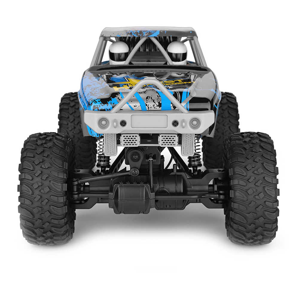 2019 חדש WLtoys 104310 RC רכב 2.4G 1/10 4WD כפול גשר סורק RC רכב 40 Minis שימוש עם משדר מטען צעצועים לילדים
