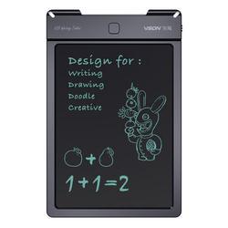 Черная доска 13 дюймов ЖК-планшет для письма для детей граффити Рисование офисный Электронный светильник энергия маленькая доска