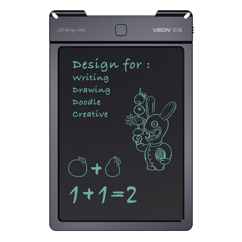 Black Board 13in LCD Writing Tablet Writing Board For Children Graffiti Drawing Office Electronic Light Energy Small Blackboard