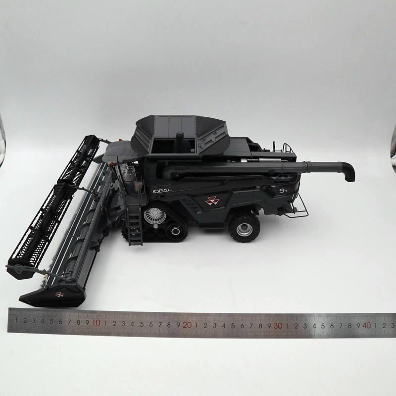 1:32 ROS moissonneuse batteuse MASSEY FERGUSON idéal 9 T PF40 avec en-tête de Grain moulé sous pression modèles en édition limitée jouets voiture