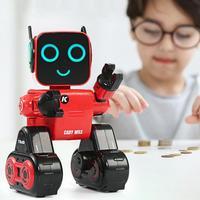 Пульт дистанционного управления Интеллектуальный робот игрушка Голосовая активированная Интерактивная Запись Поющая танцевальная расск