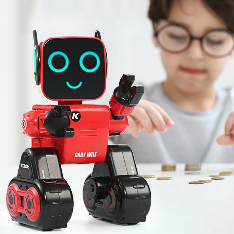 Jouet Robot Intelligent télécommandé enregistrement interactif activé par la voix chanter des jouets pour enfants