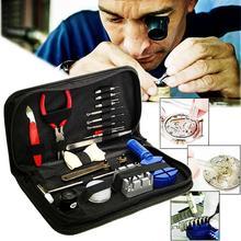 19Pcs Horloge Opener Remover Spring Bar Reparatie Pry Schroevendraaier Repair Tool Klok Horloge Reparatie Tool Kit Horlogemaker Gereedschap Onderdelen