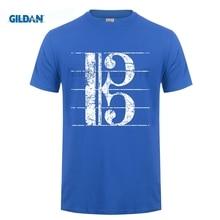 GILDAN Alto Clef Viola Key Sheet Lines T-shirt